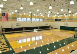 Ursuline Gym Empty